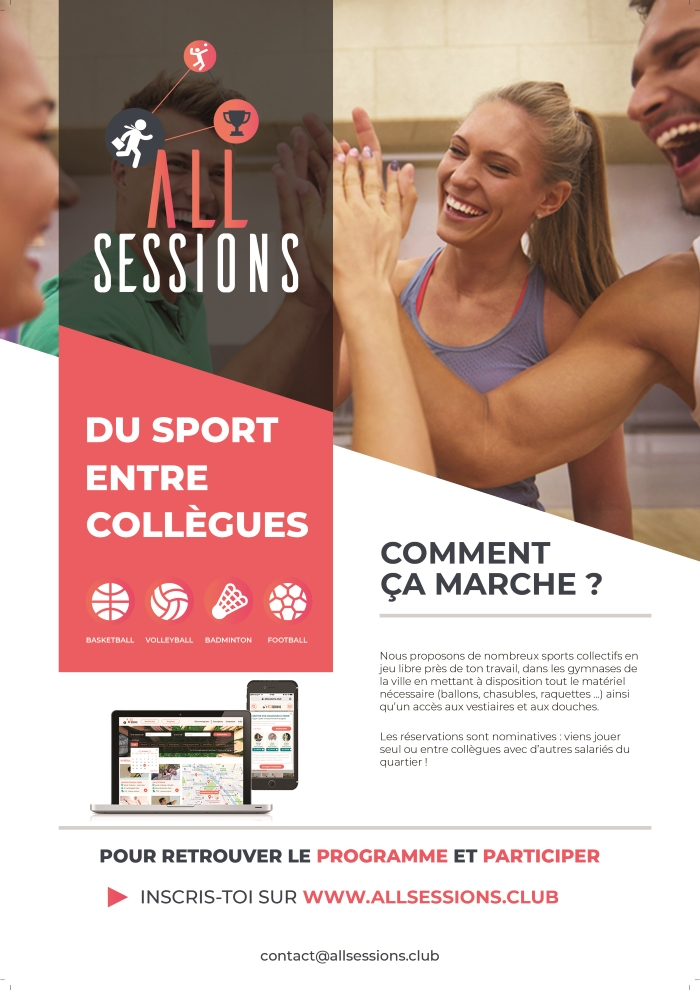 Affiche AllSessions