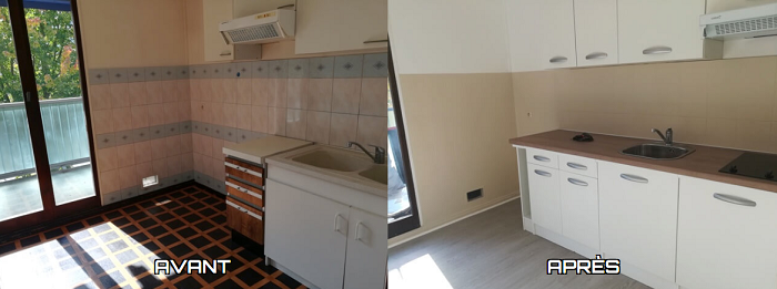 Rénovation d'une cuisine