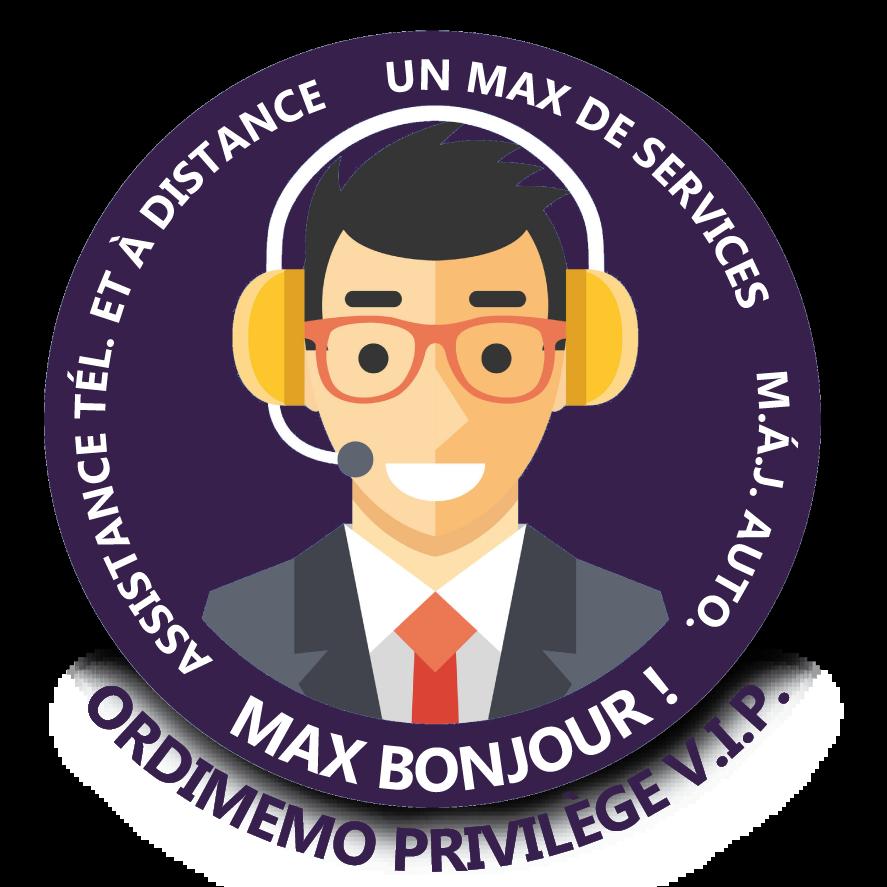 MaxBonjourViolet