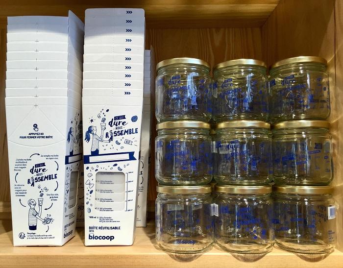 bocaux et contenants en vrac.(photo 7)