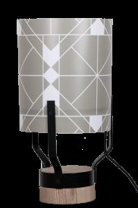Lampe ORIGINE avec motif LINE
