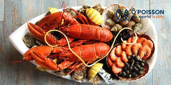 Le Royal composition de fruits de mer