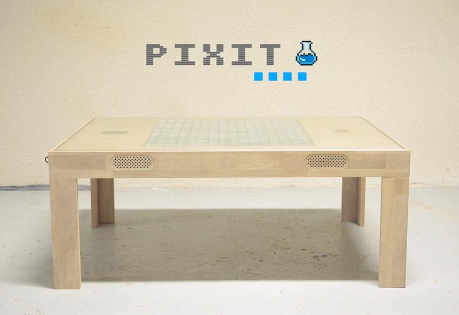 Pixit La Table Basse En Bois Made In France Qui Renferme Une