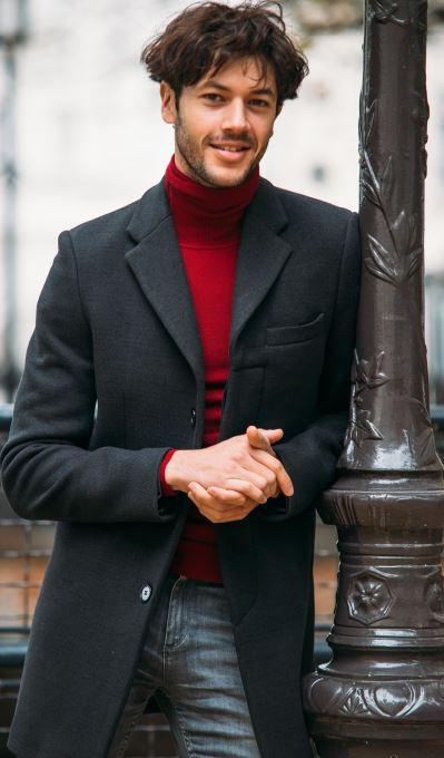 manteaux homme