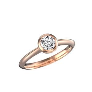 Solitaire-diamant-serti-clos-Omega-or-rose-0.40-1