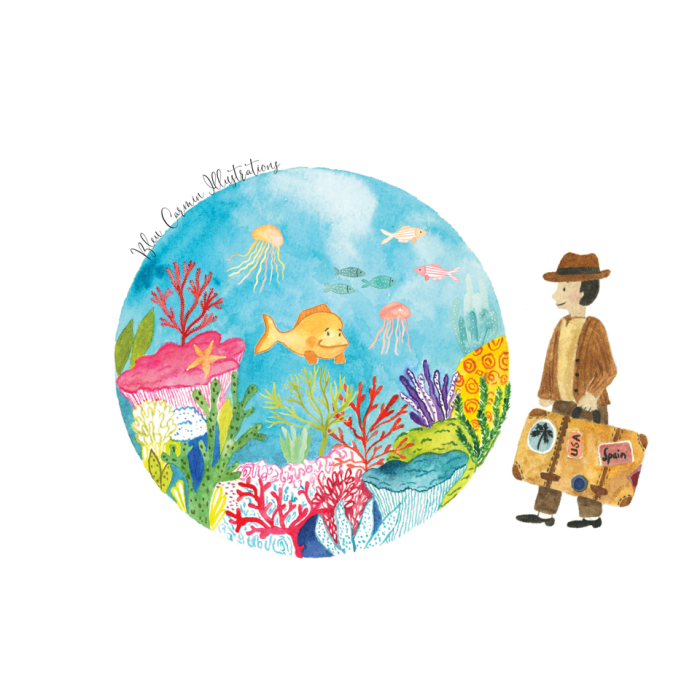 fonds marins coraux