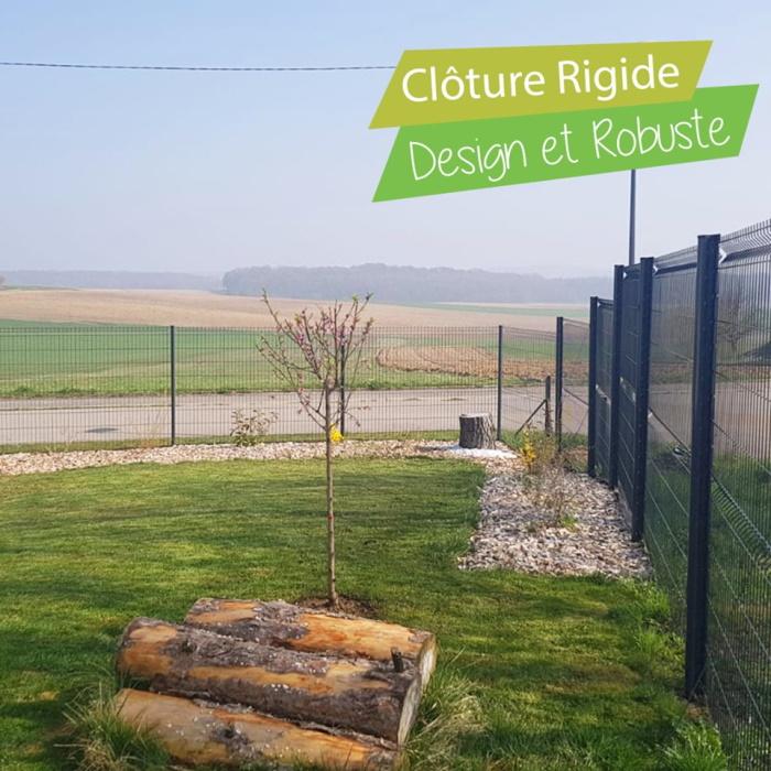 clôture-rigide