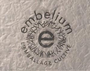 logo gravé laser
