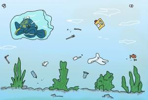 pollution merou