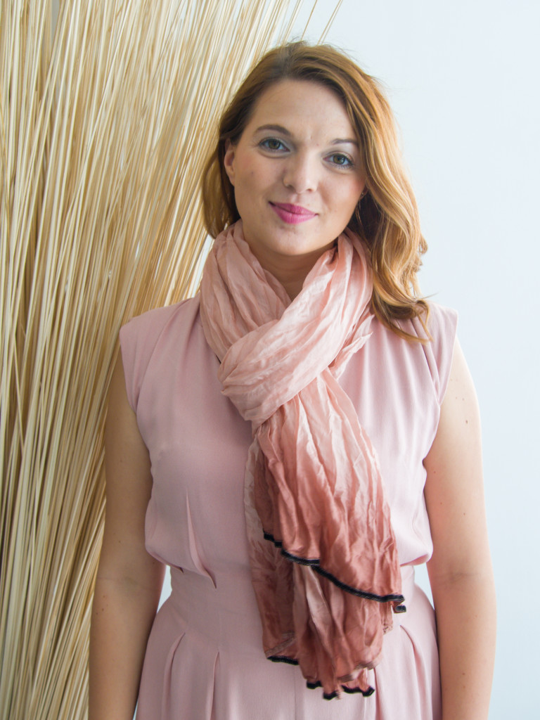 MUUDANA- Mode equitable fait main-Foulard soie femme