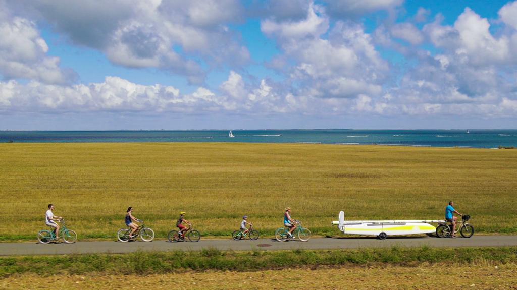 1 Transport Famille à vélo inversé