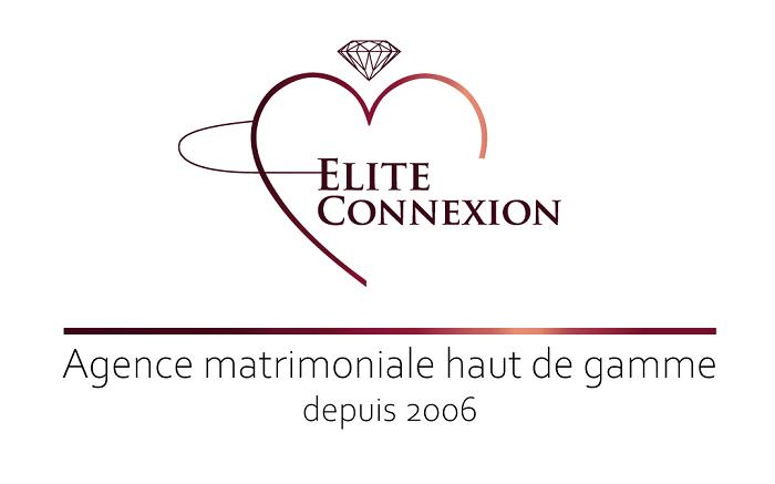 Logo Elite connexion agence matrimoniale haut de gamme. Blanc(1)