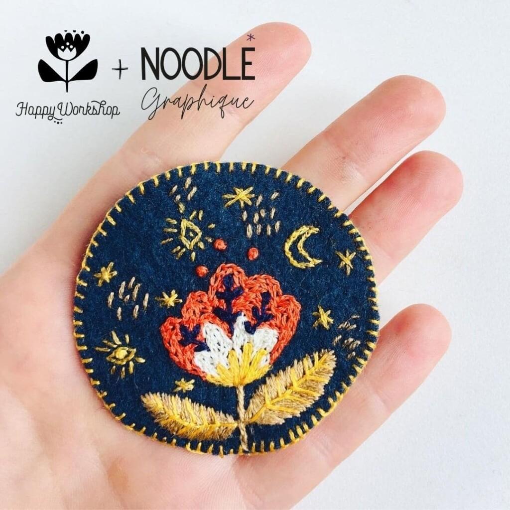 Kit Patch Fleur de lune