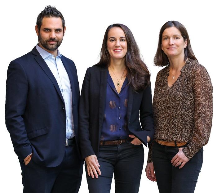 Julien BADR, Jenny GAULTIER VALLET, Carole JONCOURT -  Fondateurs du Mercato de l'Emploi
