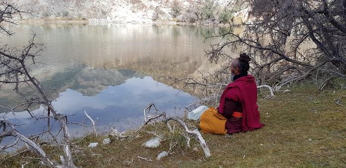 Maitre de méditation au Ladakh