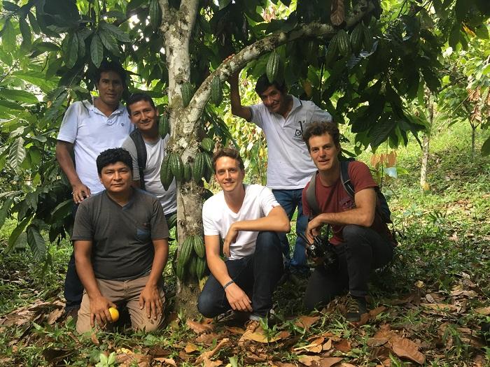 Equipe La Tribu et production cacao, Pérou