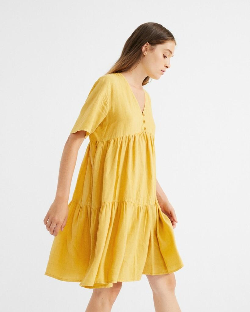 Photo robe chanvre