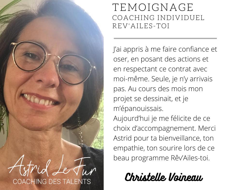 temoignage Christelle Voineau