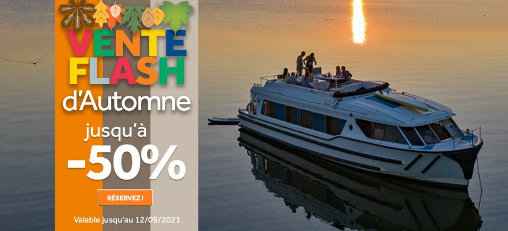 Vente Flash Automne Le Boat