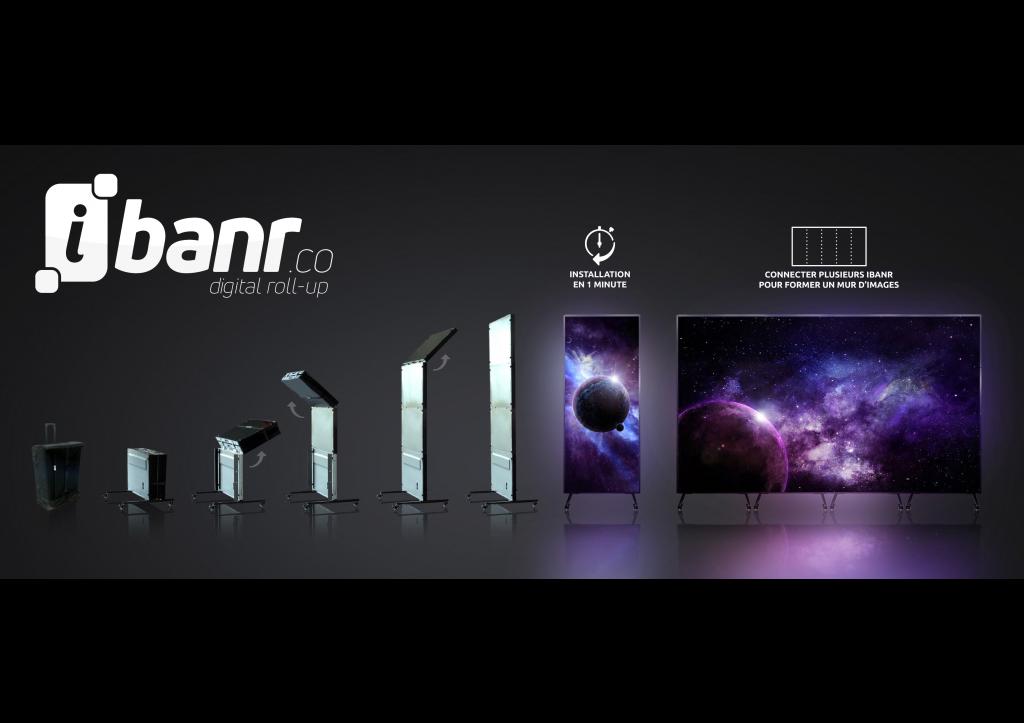 Fond iBanr avec logos